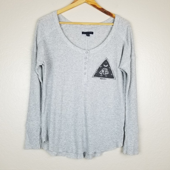 813fff674 American Eagle Outfitters Tops   American Eagle Moon Lover Graphic ...